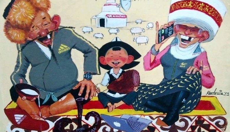 Кыргыз Эл Жомогу: Камкор Бала Жана Анын Достору