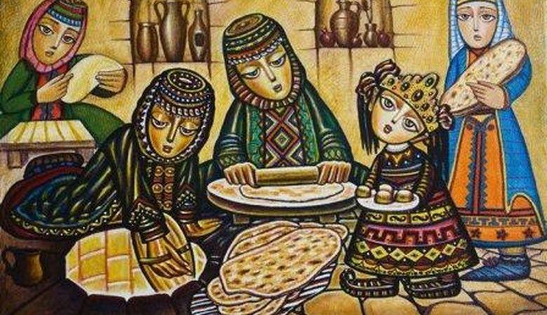 Армян эл жомогу: Жардамга жардам
