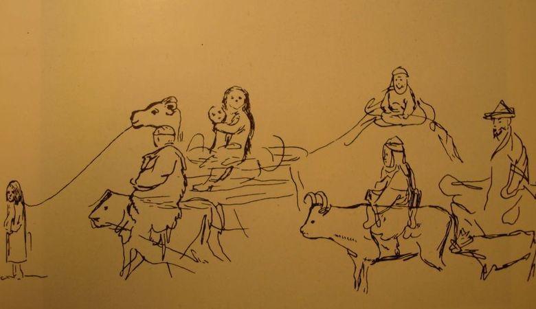 Кыргыз эл жомогу: Жаныбек мерген жана анын баласы
