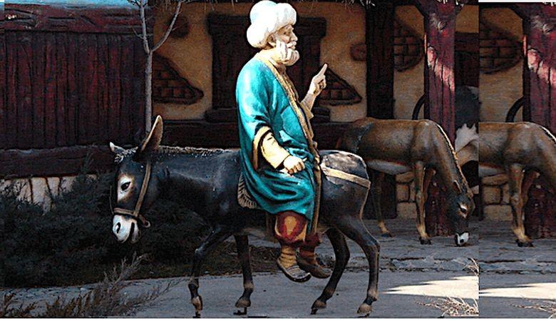 Эшек жөнүндө араб элинин уламышы